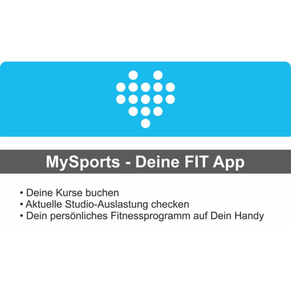 mysports Fitnessapp